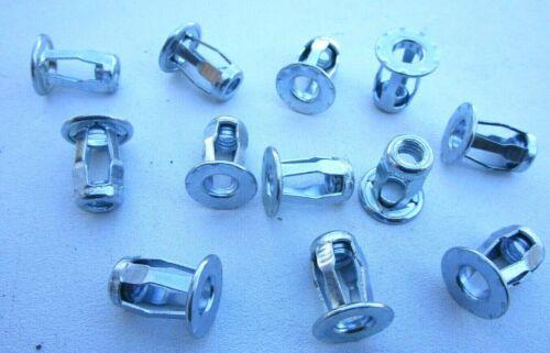 """Steel Blind Jack Nuts 1//4/""""-20 11//16/"""" Stem Length W//O Sealer"""