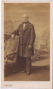 Pierre Petit Parigi Ritratto Un Uomo CDV Vintage Albumina Ca 1860