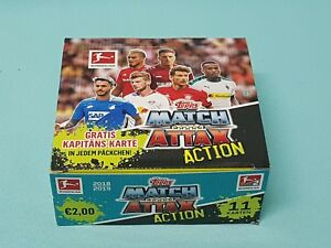 Topps-Match-Attax-2018-2019-Action-1-x-Display-20-Booster-18-19