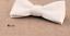 Cuir-Noeud-Papillon-Homme-Femme-Qualite-Marron-Noir-Blanc-Rouge-Bleu-Argent-Dore miniature 4