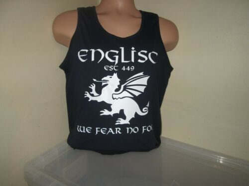T Shirt Englisc English Pagan England Pendragon We Fear No Foe