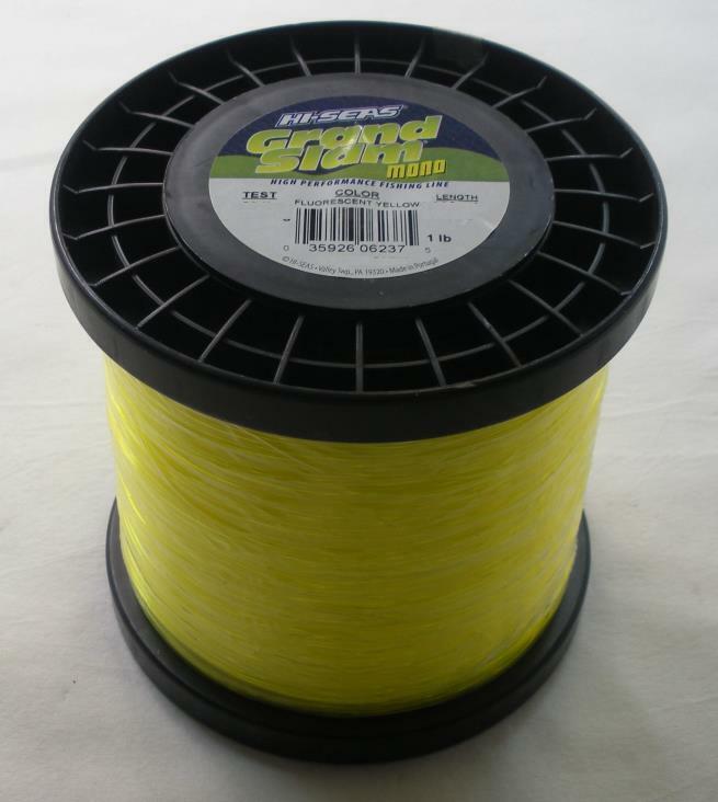 Hi seas GSM1-50FY Grand Slam Amarillo Fluorescente Amarillo 1Lb  Cocherete de línea mono 23641  el más barato