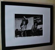 Guns N' Roses Axl Rose Slash fine art photo B.C Rich 1985 signed # 8/100 rare