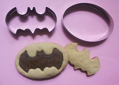 Batman movie comics party special biscuit baking metal stainless cookie cutter