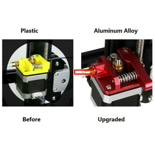 Aluminum Frame MK8 Extruder Upgrade Kit For Creality 3D Printer CR-10 Series