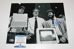 Apple Computer Gründer Steve Wozniak Unterzeichnet 11x14 Foto Beckett COA A Mac
