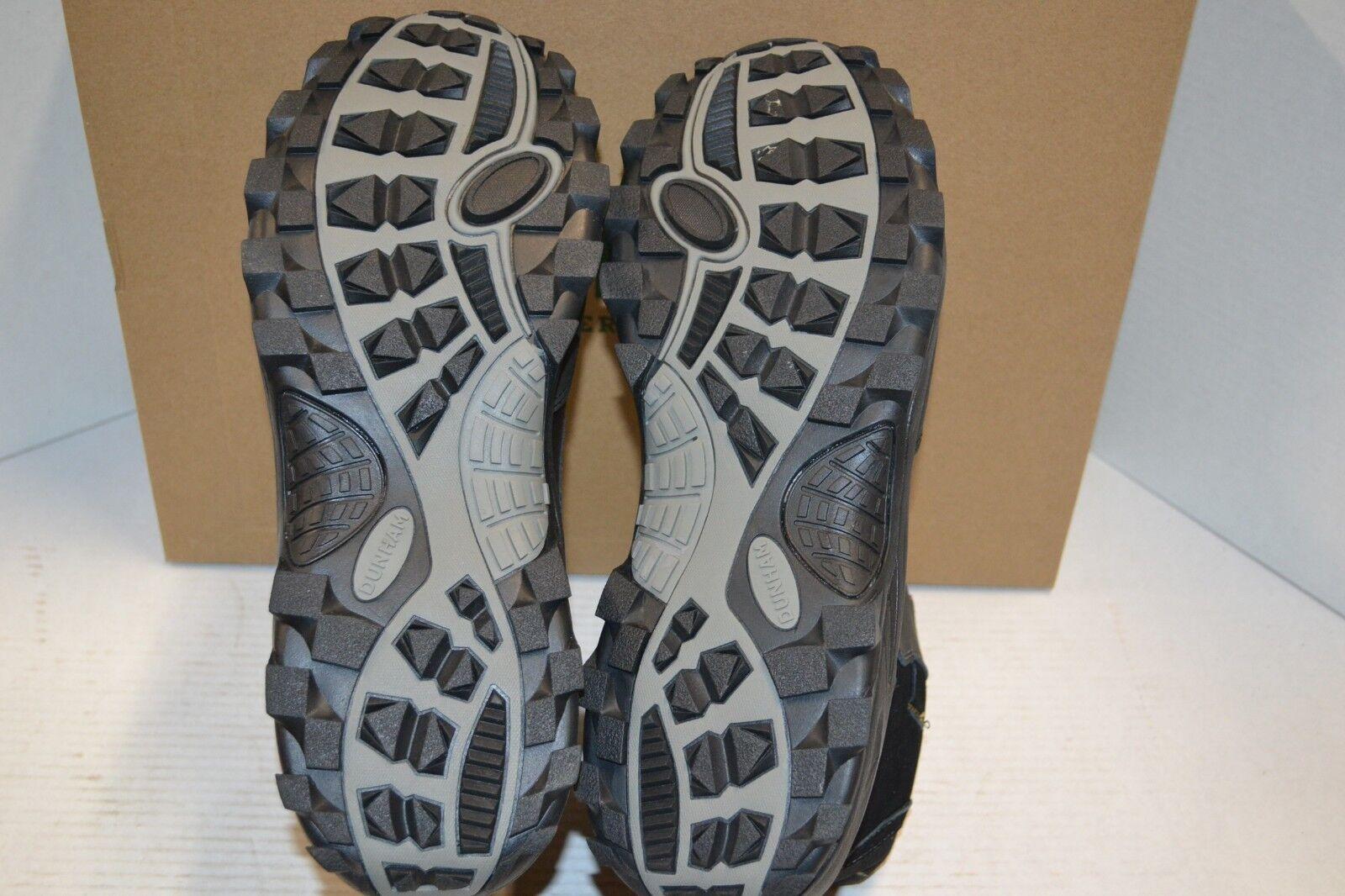 Dunham Para Hombre Tony-Dun botín chukka Cremallera Negro a mediados mediados mediados de cuero impermeable 17 4 E 38ab7e