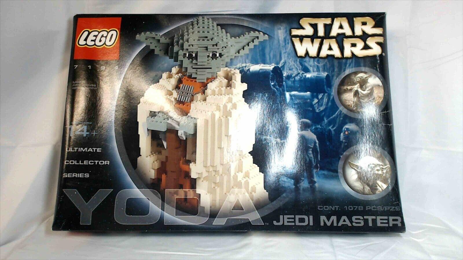 Lego estrella guerras YODA 7194 Ultimate Collector Unopened Water  Damaged scatola OACM09  promozioni eccitanti