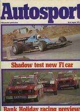 Autosport August 26th 1976 *Alfa Romeo Alfetta GT road test*