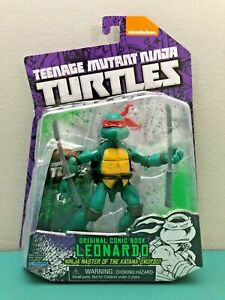 Ninja turtle comic book toys