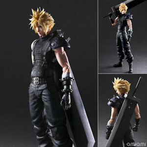Square Enix Play Arts Kai Final Fantasy VII Cloud Strife PVC Action Figure Play