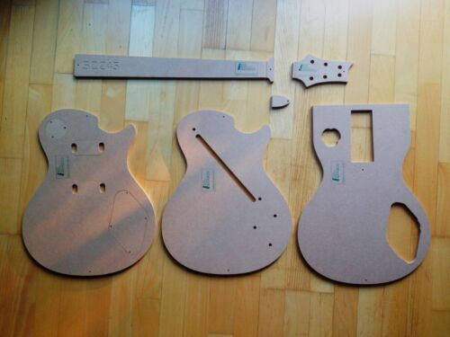 Luthier PRS SC245 Templates for Guitar Building f.e Fender Guitar Repair f