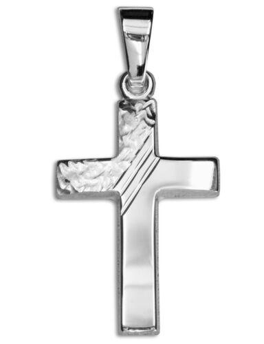 Kinder Kommunion Konfirmation Baby Taufe Kreuz Anhänger Silber 925 mit Kette Neu