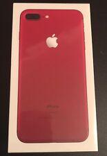 Apple iPhone 7 Plus - 256gb-Teléfono inteligente Desbloqueado Rojo Nuevo Sellado