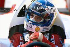 Keke Rosberg McLaren MP4/2C Spanish Grand Prix 1986 Photograph 1