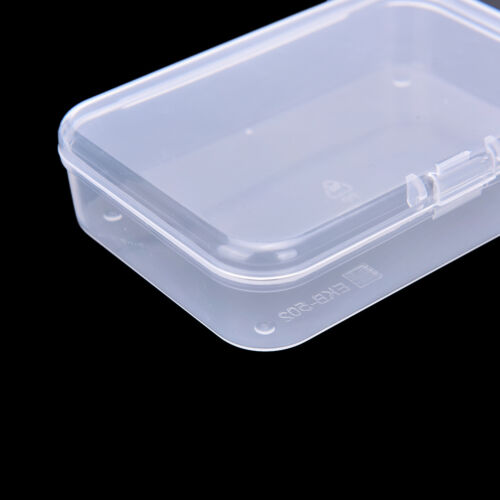 Clear Plastic Transparent With Lid Storage Box Collection Container Case uuBAUS