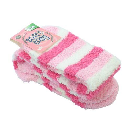 4~12pairs Women Girl Winter Socks Cozy Fuzzy Slipper Long Fleece Knee High Lot
