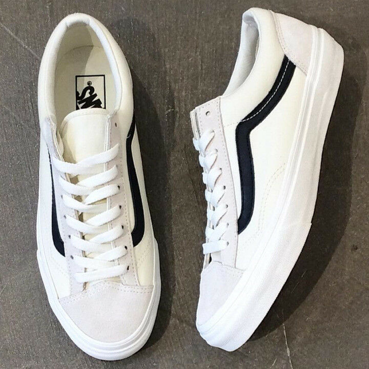 VANS STYLE 36 [27cm] style 36 white  navy bluee navy from japan (5454