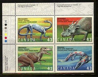 Briefmarken Kanada 1389/92 Tiere Postfrisch Kann Wiederholt Umgeformt Werden.