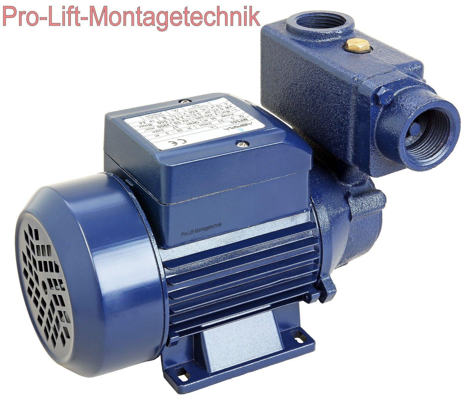 370w POMPA ACQUA AUTOADESCANTE 230v acqua domestica pompa pozzo di fabbrica mps60j 02018