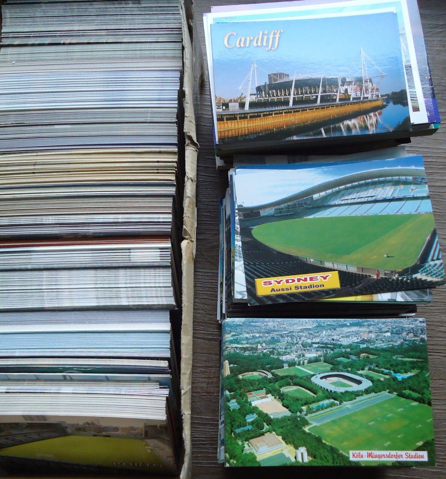 Sammlung Konvolut 100 Stadionpostkarten Stadium Stadium Stadium Postcards f16c6d