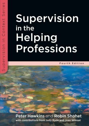 1 of 1 - Supervision in the Helping Professions by Peter Hawkins, Robin Shohet (Paperbac…