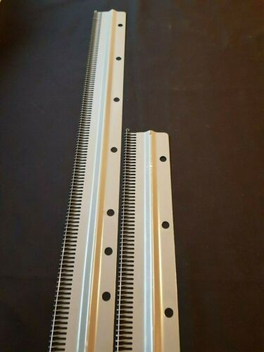 Silver Reed Knitmaster Knitting Machine pièces norme 4.5 mm Cast on Comb Set 4
