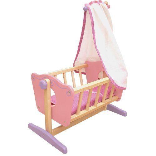 Puppenwiege I´m Toy Kinder Wiege Wippe Schaukel