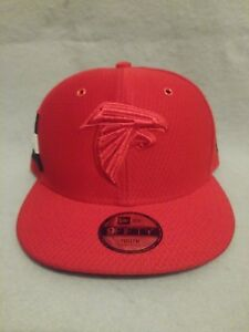 new arrival 5eb9b e1904 Details about New Era Atlanta Falcons Youth Red 2018 NFL Sideline Color  Rush 9FIFTY Snapback