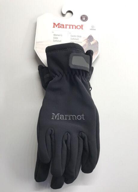 buy good best website store Marmot Women's Sz. Medium Glide Softshell 18370 Gloves Black New