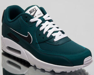 online store b35ab 80742 Image is loading Nike-Air-Max-90-Essential-Sneakers-Rainforest-Grey-