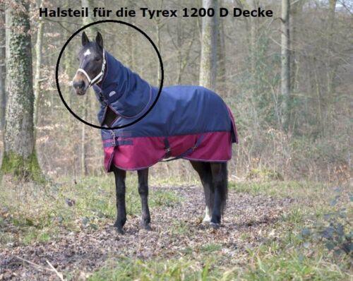 200g EQUITHÈME Tyrex 1200 D Halsteil blau für Weidedecke 0g