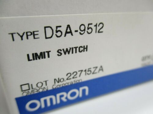 Details about  /OMRON D5A-9512 NSMP