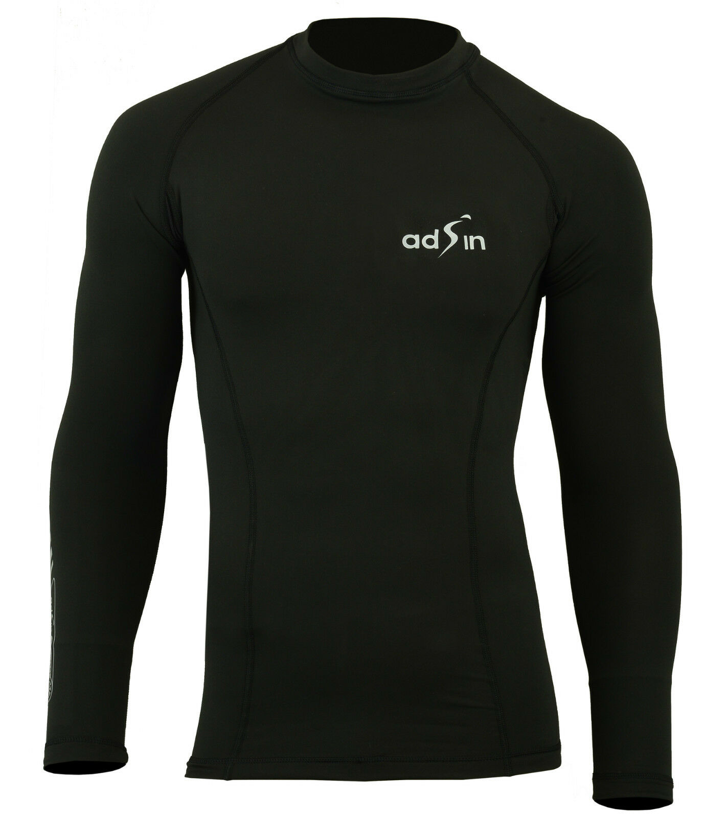 Herren Lycra Thermal spandex Armour Base layer Long Sleeve Gym Sports Shirt