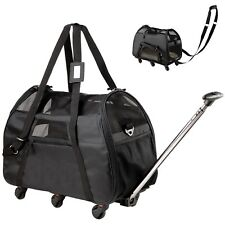 WPS Airline Approved Removable Wheeled Pet Carrier for Small Pe... 2day Delivery