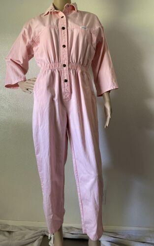 Vintage Women's Ideas Jumpsuit, Pink, Bubblegum, 1
