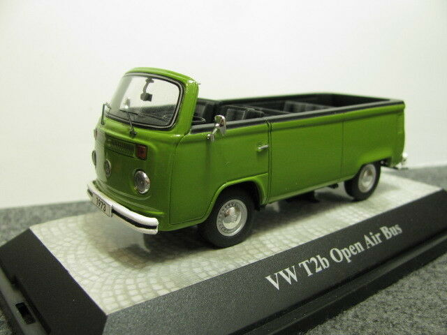 1   43 premium classixxs vw volkswagen t2b cabrio open air bus - druckguss