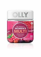 Olly Perfect Womens Multi-vitamin Gummy Supplements Blissful Be... Free Shipping