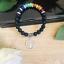miniature 2 - 7 Chakra Bracelet Gemstone Healing Natural Stones Tree of Life Crystal Jewellery