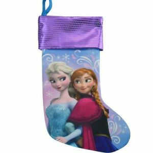 Regali Di Natale Frozen.Dettagli Su Disney Decorazione Di Natale Collant 18 Frozen Regali Lustrini Su Cuff