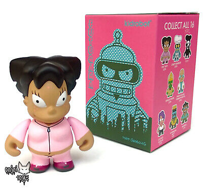 "Kidrobot FUTURAMA GOOD NEWS EVERYONE Mini Series FAT AMY 3/"" Vinyl Figure"