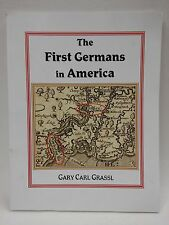 The First Germans in America-Grassl-Genealogy-Jamestown-Virginia