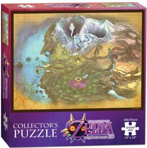 BRAND NEW The Legend Of Zelda Majoras Mask Termina Map Collectors Puzzle 550