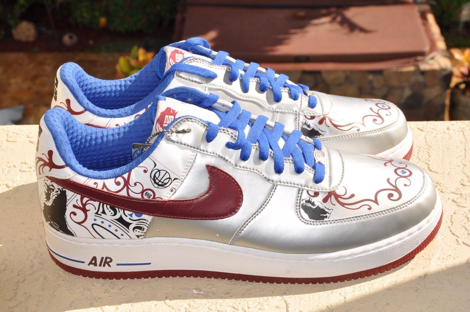 Nike air force 1 premio lebron james royal flush ds numero 14