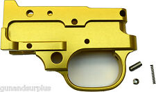 Ruger 10/22 Stripped Trigger Housing Group CNC Machined  GOLD 1022 SR 22