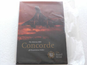 2008-Royal-Mint-Concorde-5th-Anniversary-BU-5-Five-Pound-Coin-Pack