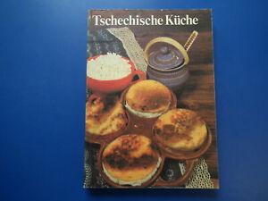 DDR-Kochbuch-Tschechische-Kueche-guter-Zustand-TB-EA-1982-viele-Rezepte-g-Zust