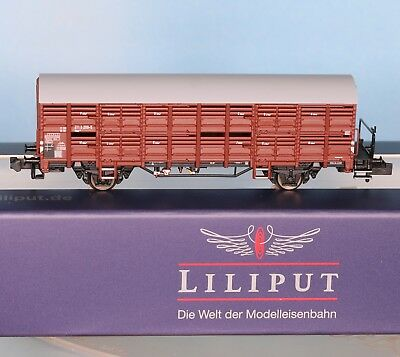 - Spur N - 2-achsig Ep.4 Easy To Repair Db Verschlagw Liliput 260135-3 Mit Bremserbühne