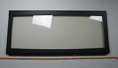 Fireplace Replacement Parts Glass Insert Black Frame 39 3