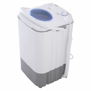 Image Is Loading Small Compact Portable Electric Washing Machine Mini Spin
